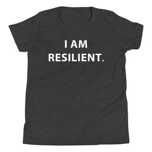 I Am Resilient: Youth Short Sleeve T-Shirt