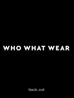 WHO WHAT WEAR