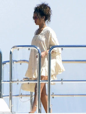 SPOTTED! Rihanna wearing Rhode Resort