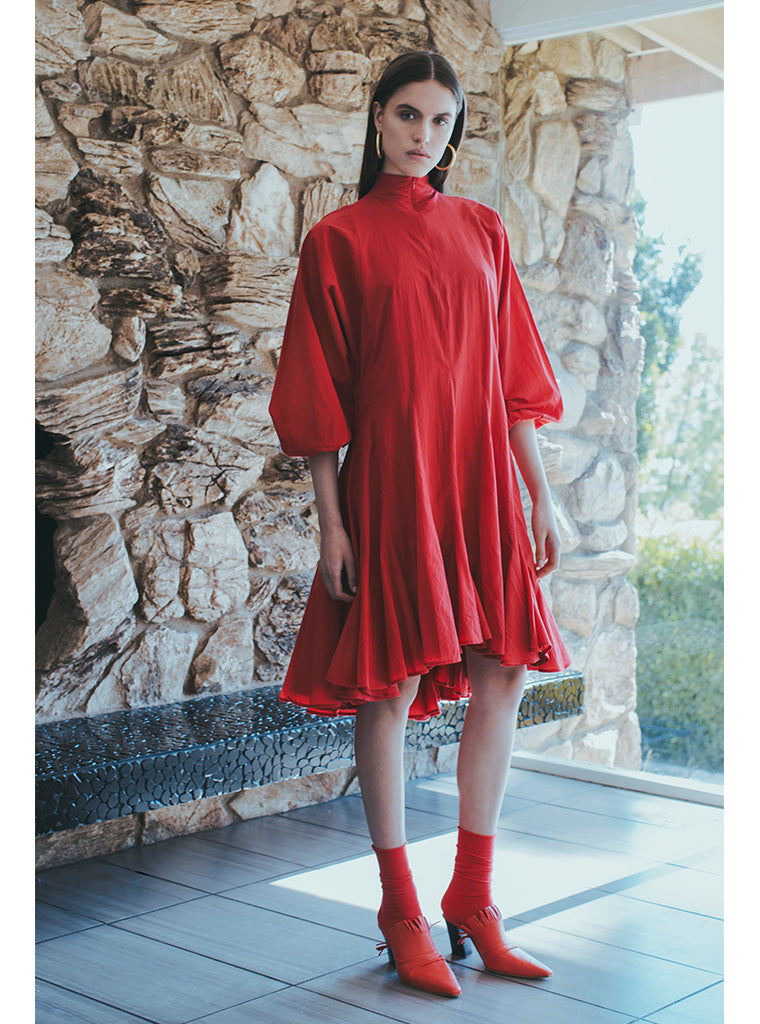 Adeline Dress | Ruby
