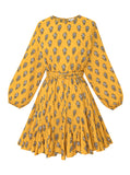 Ella Dress | Yellow Flower