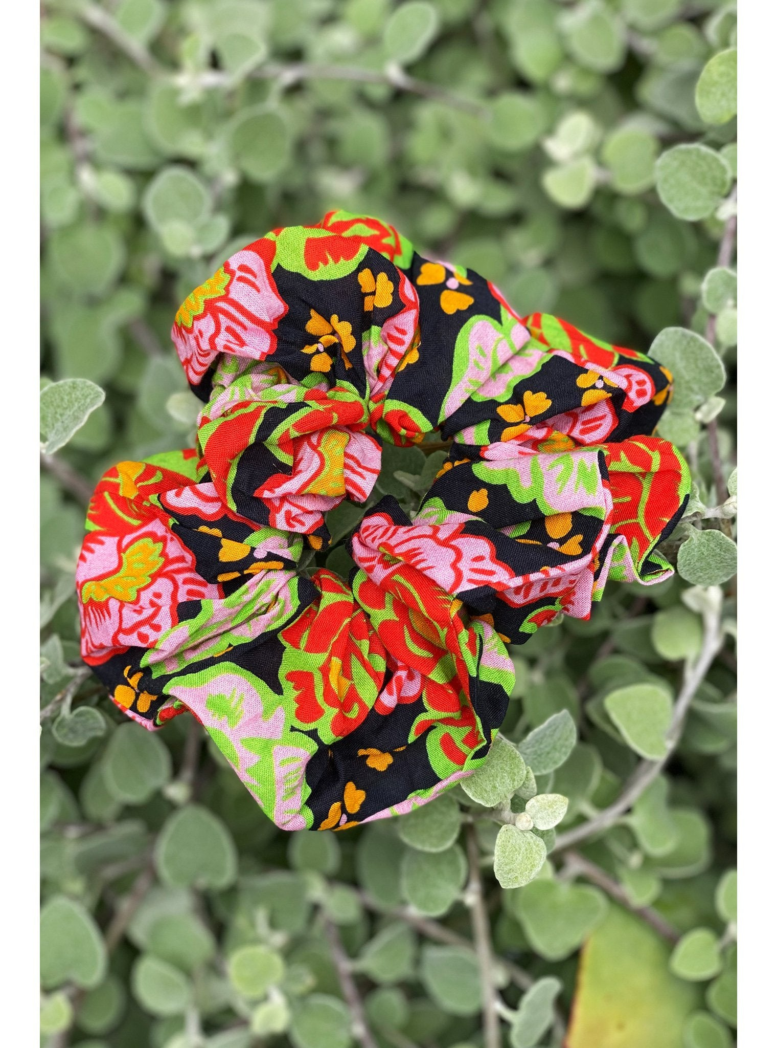 Hair Scrunchie | Electric Petal