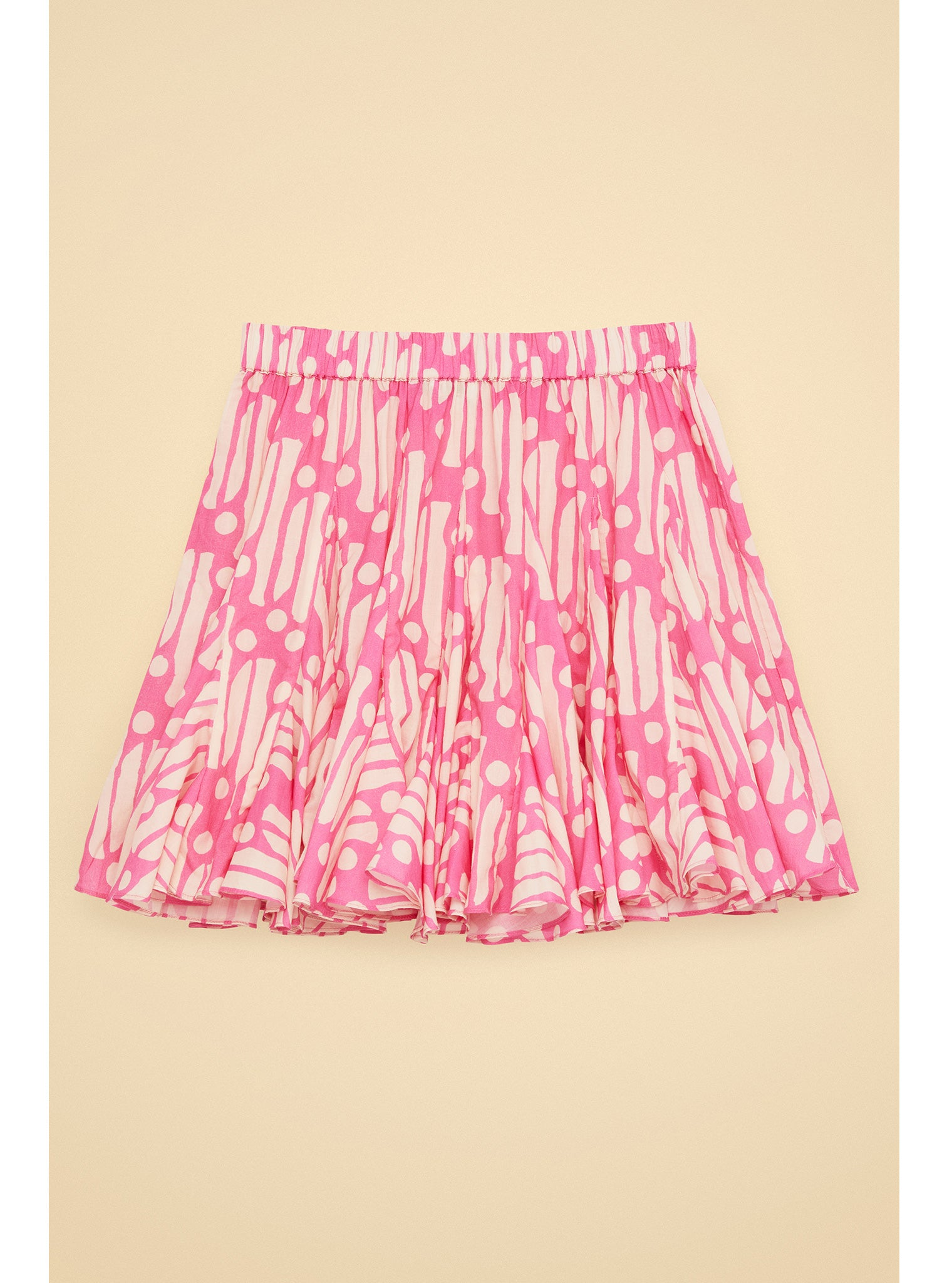 Hilary Skirt in Pink Batik