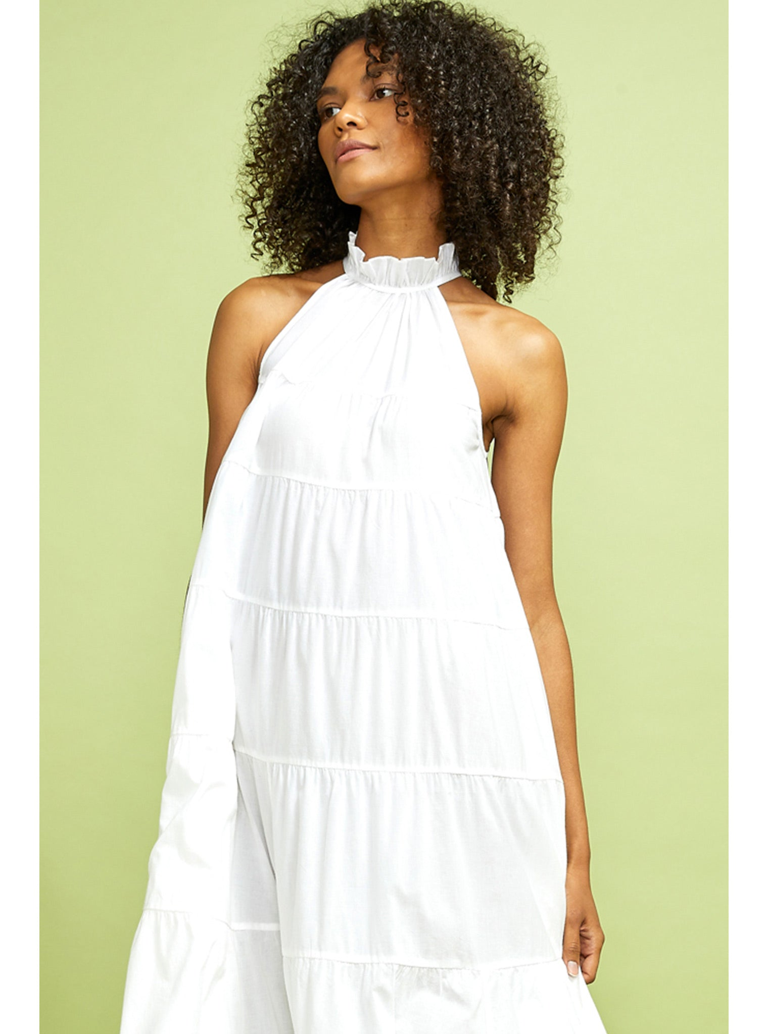 Julia Dress | White