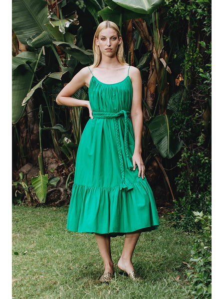Lea Dress | Green