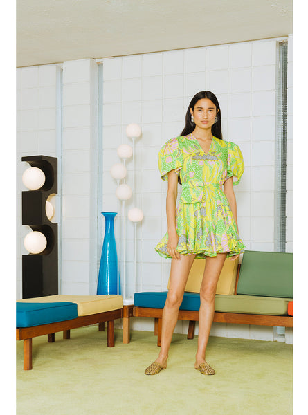 Vivienne Dress | Neon Botanical