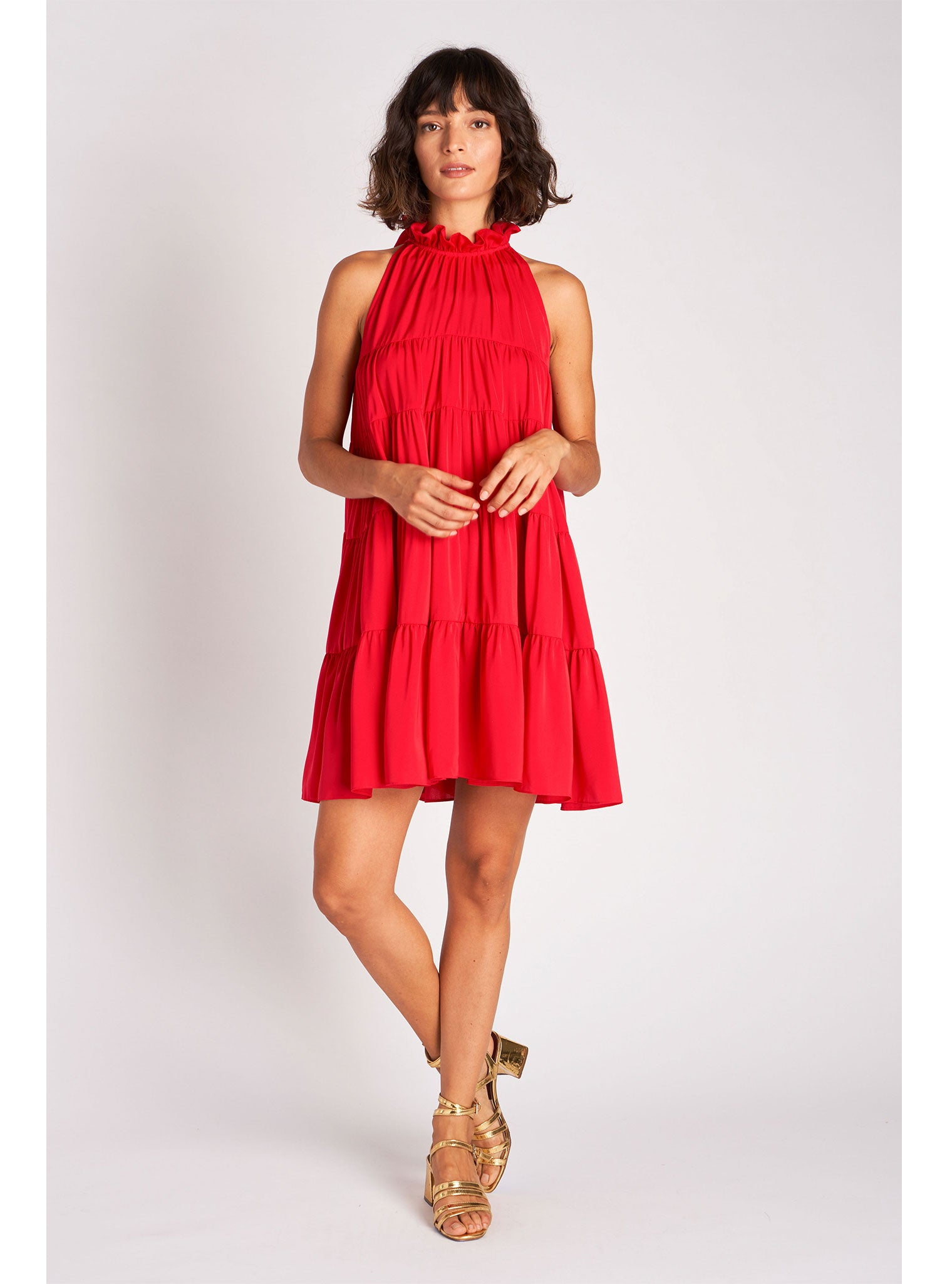 Billy Dress | Lipstick Red