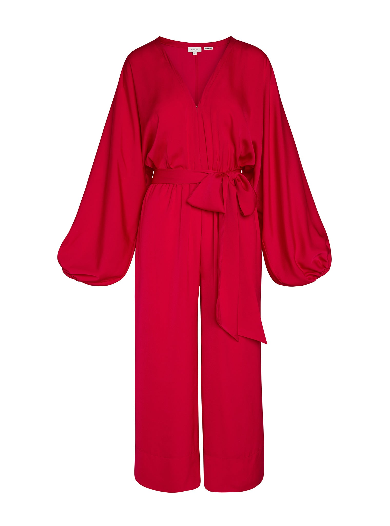 Blake Jumpsuit | Lipstick Red