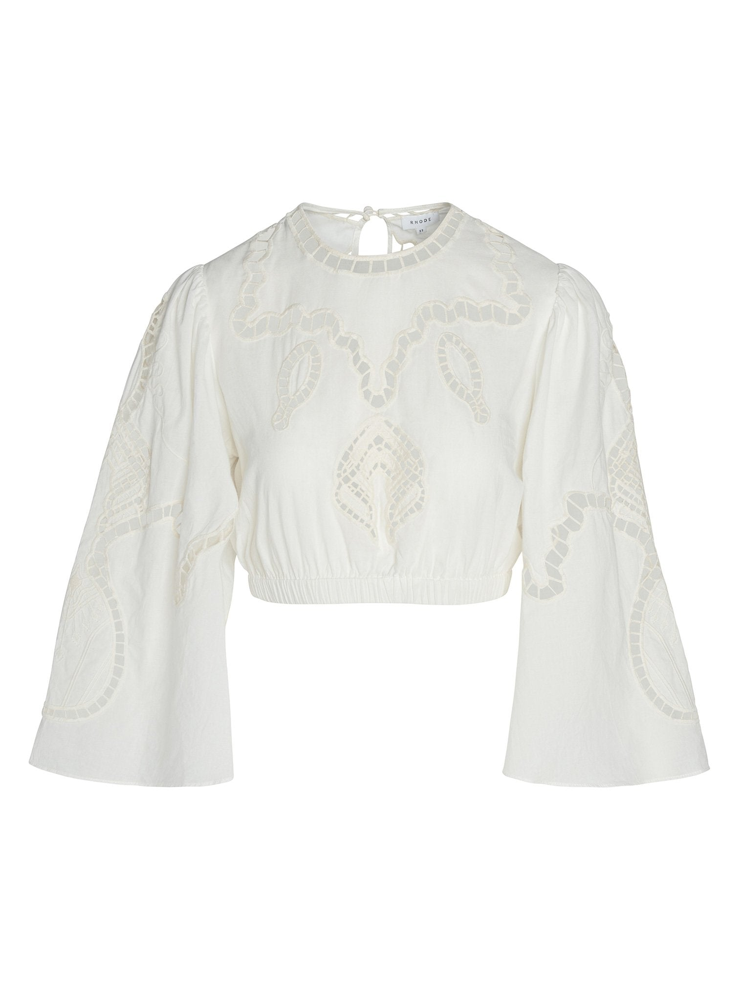 Casper Top | Ivory Embroidery