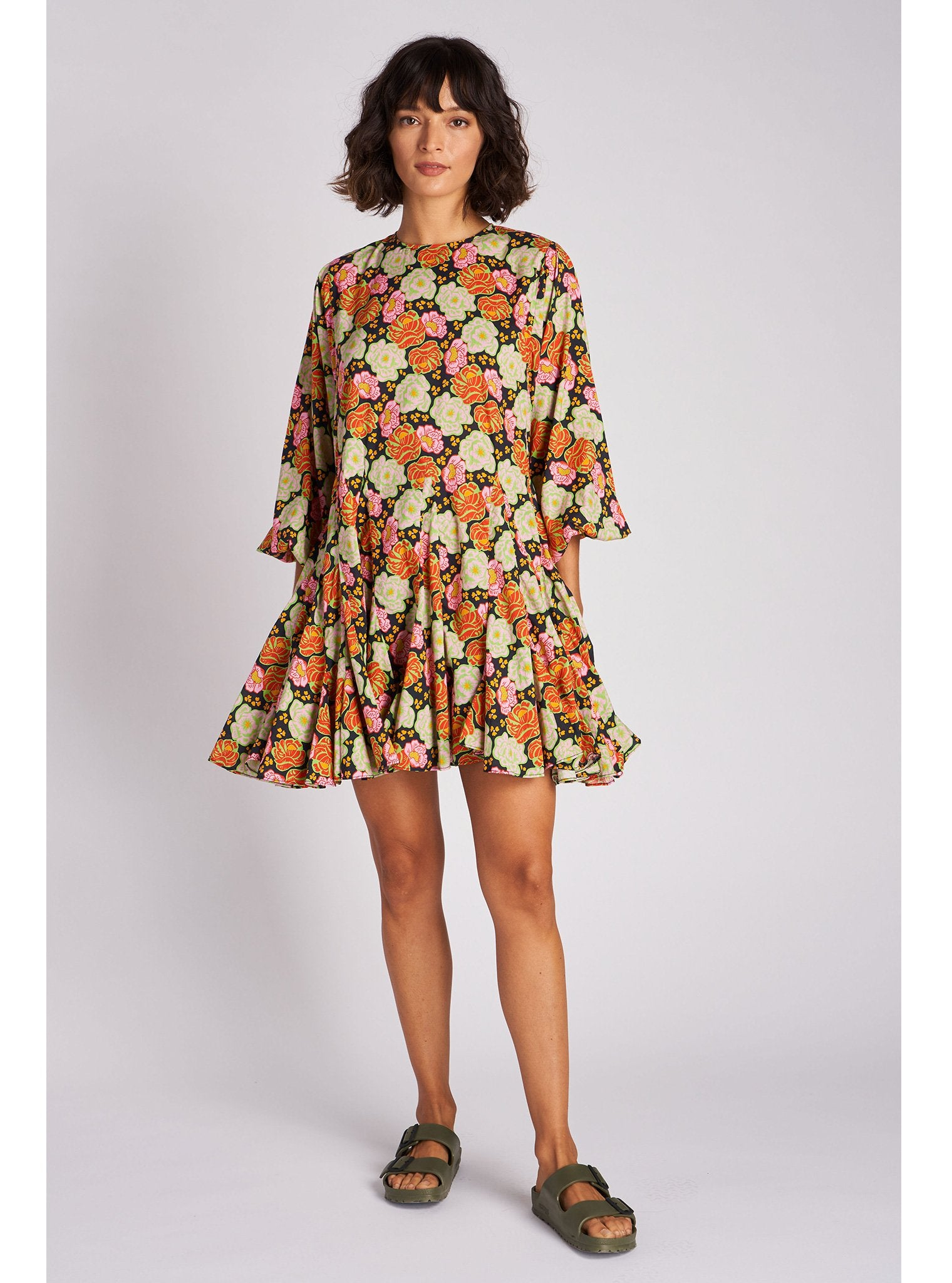 Ella Dress | Electric Petal