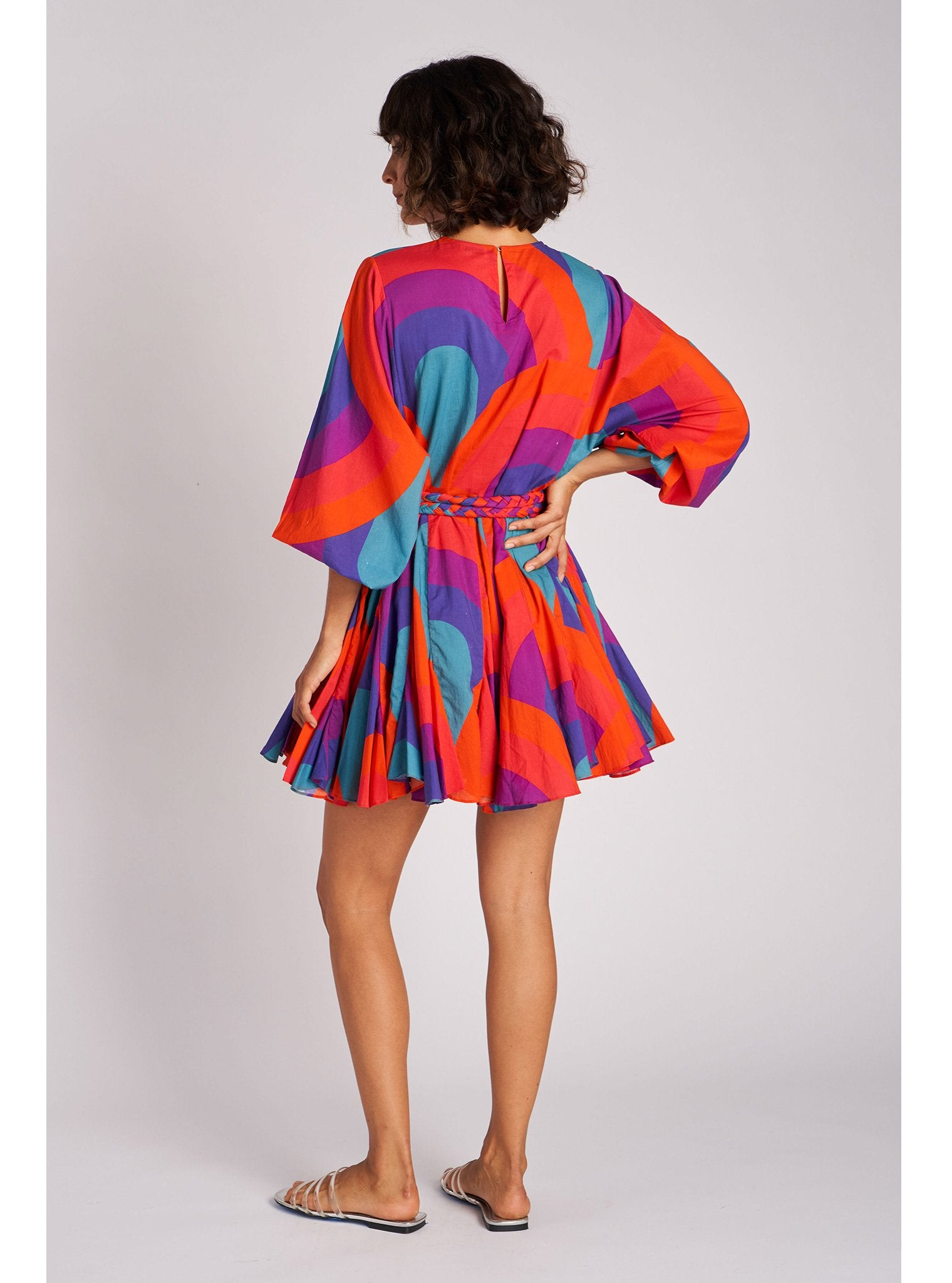 Ella Dress | Retro Rainbow