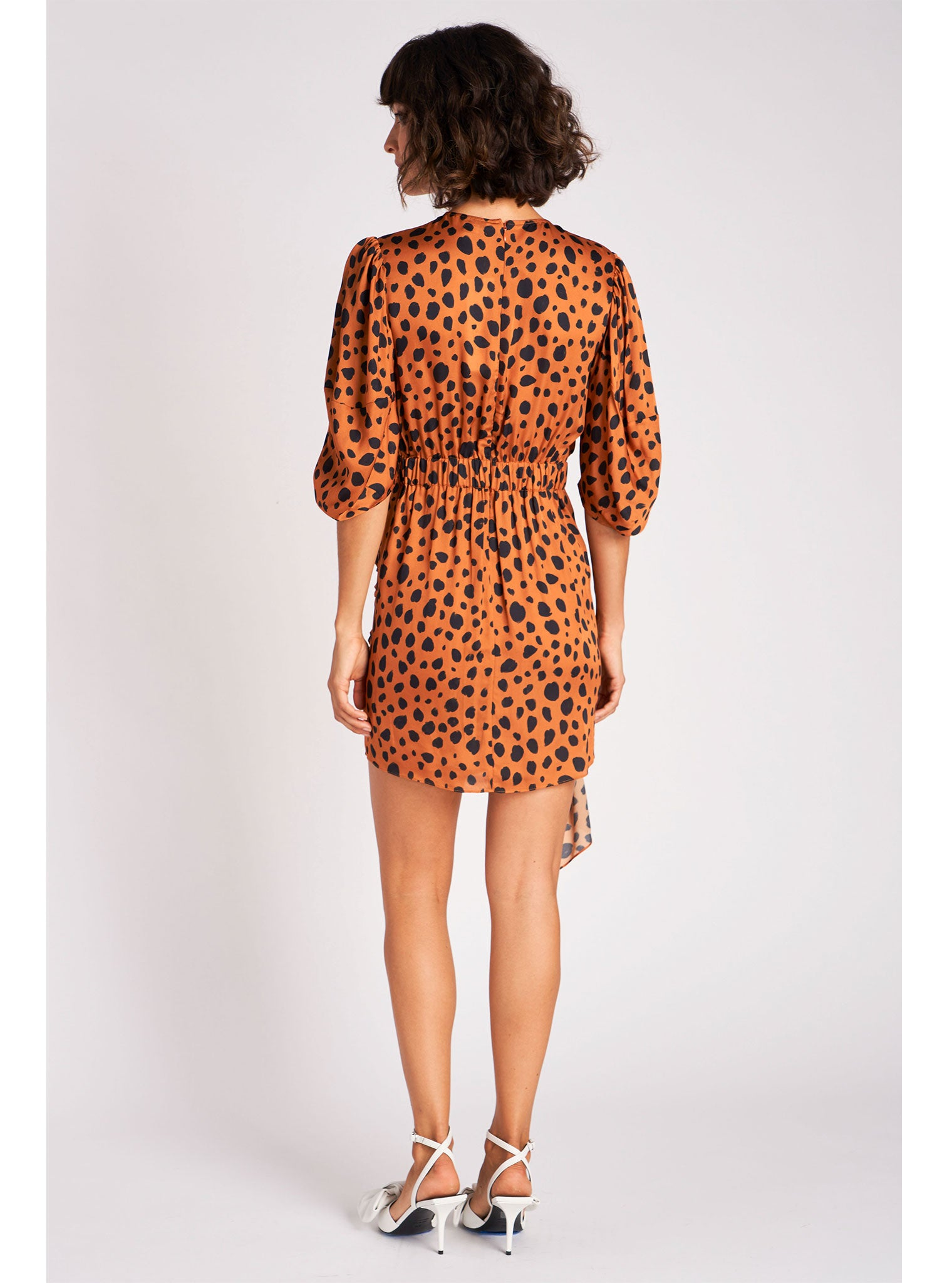 Pia Dress | Cheetah