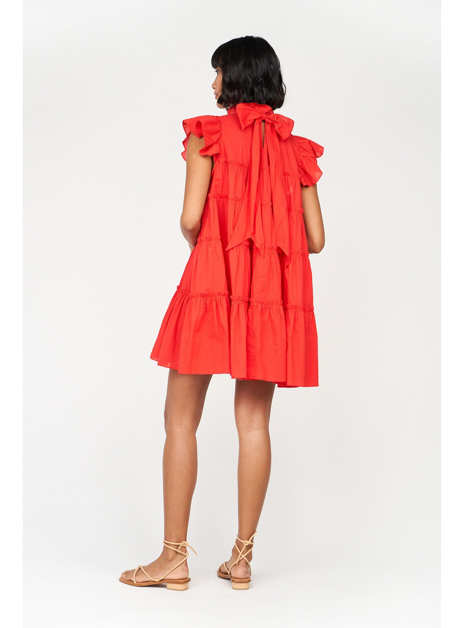 Tiffany Dress | Candy Red