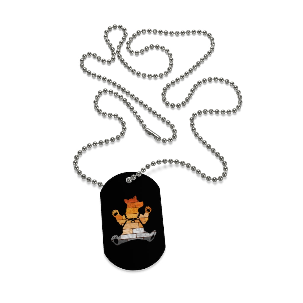Cub Pride Harness Dog Tag - Bearified Gear