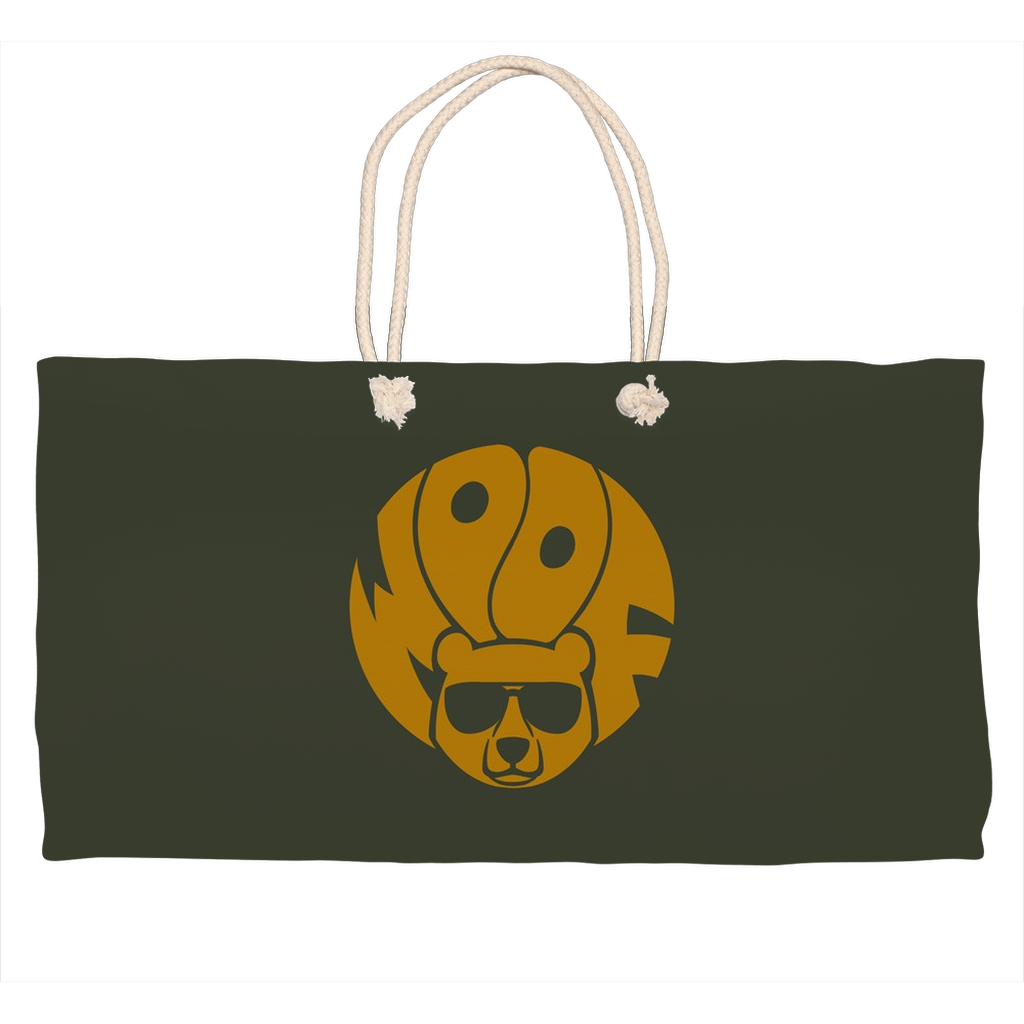 Bearified Woof  Weekender Tote Bag - Bearified Gear