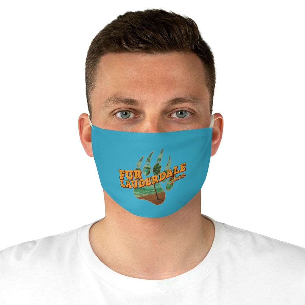 Fur Lauderdale Fabric Face Mask - Bearified Gear