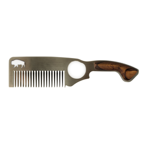 Bisson hair Comb No. 2 details - Bearified Gear