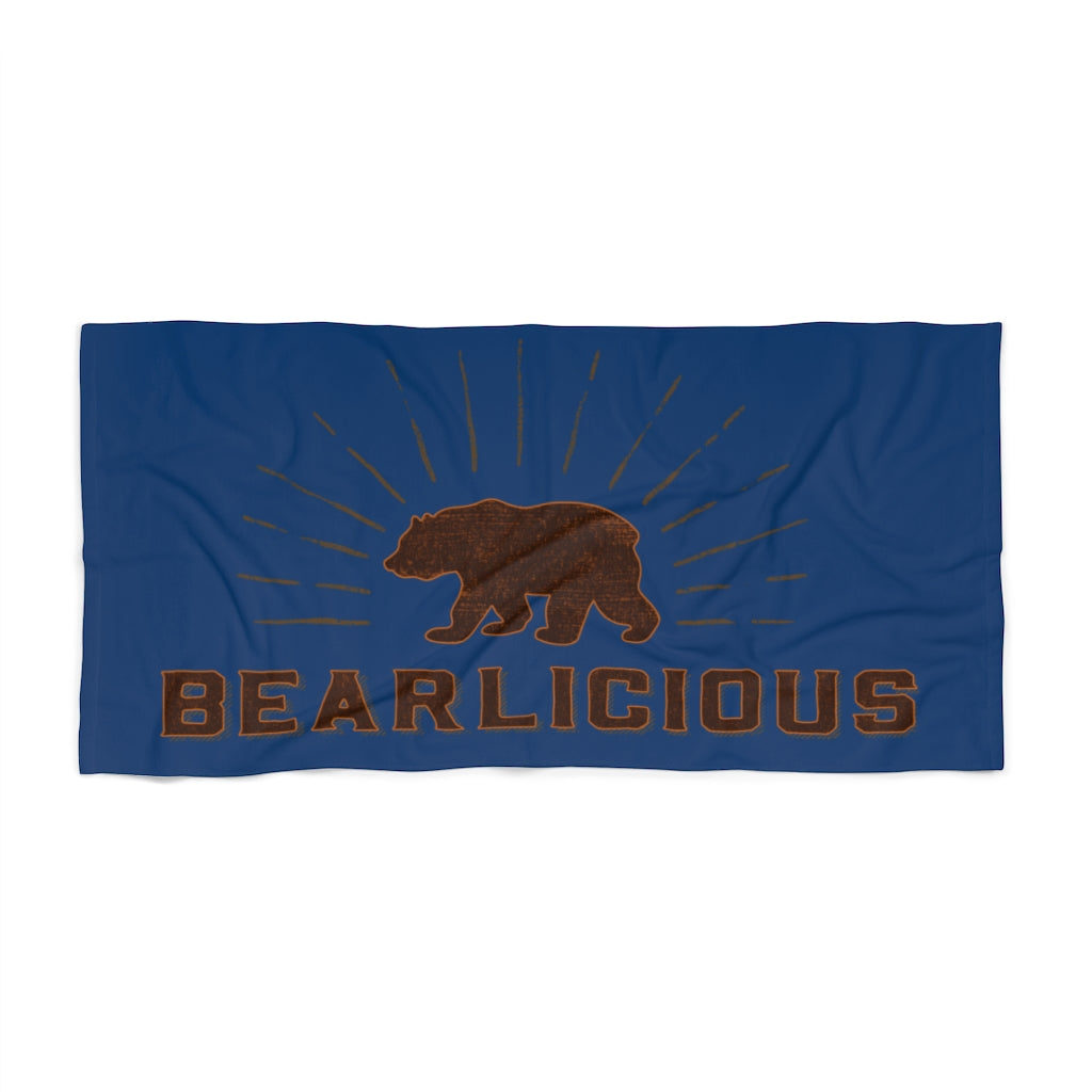 Bearlicious Beach Towel - Bearified Gear