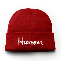 Husbear Embroidery Beanie Hat - Bearified Gear