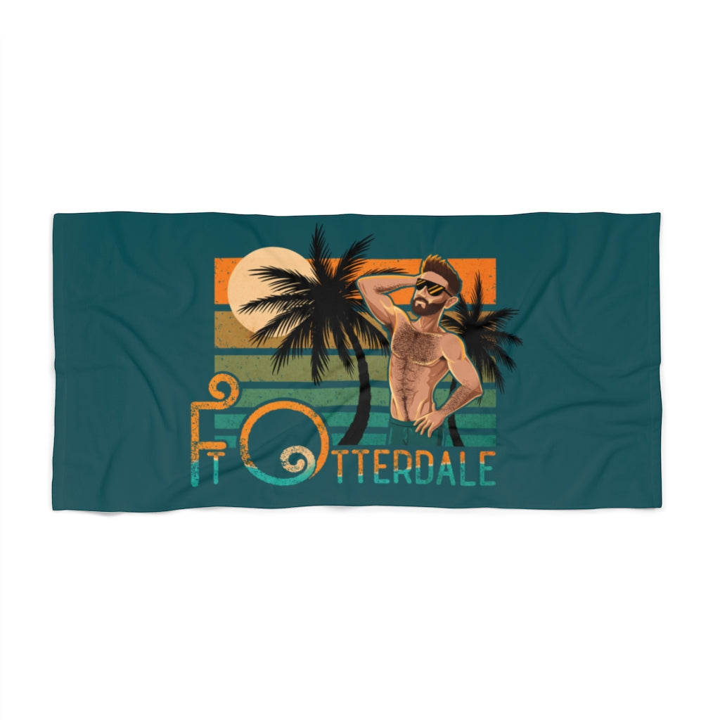 Ft Otterdale Beach Towel - Bearified Gear
