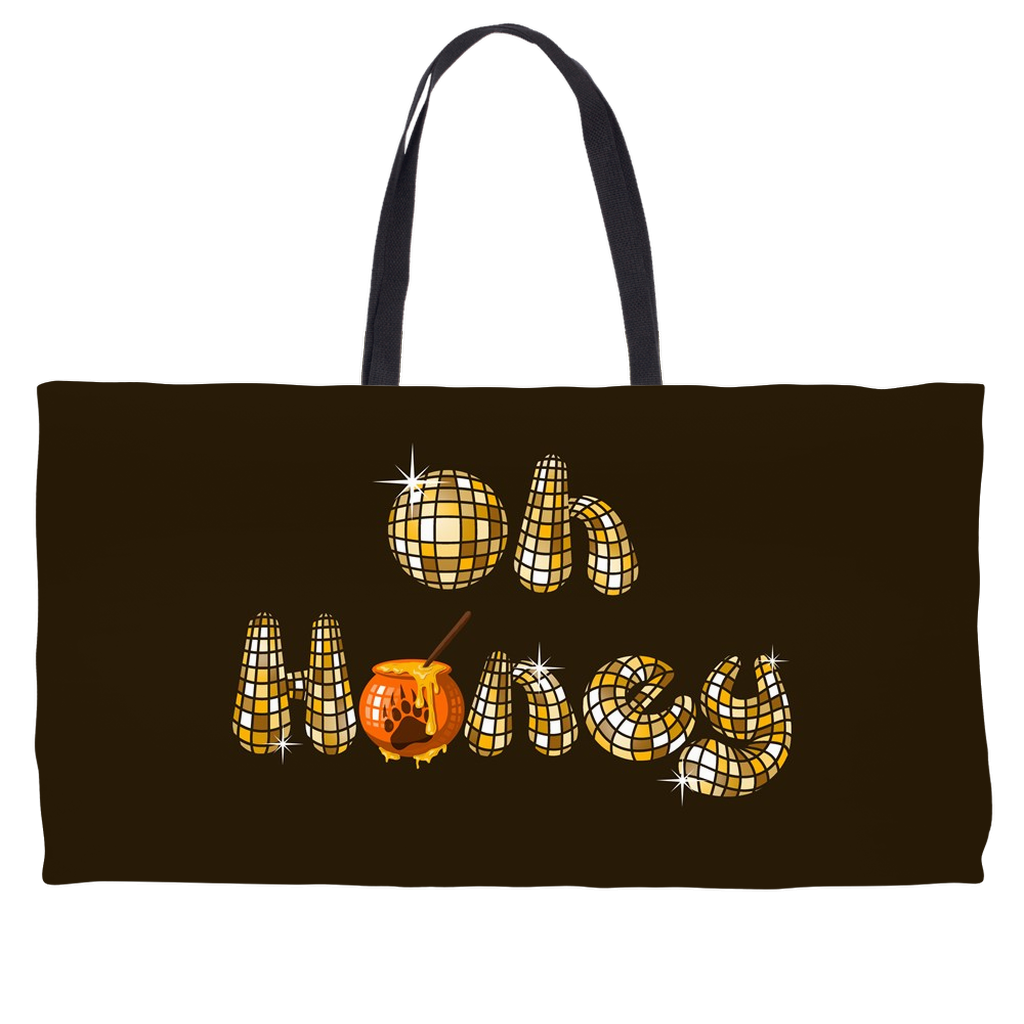 Oh Honey Weekender Tote Bag - Bearified Gear