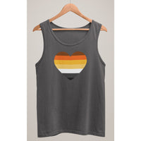 Bear Pride Heart Tank Top - Bearified Gear