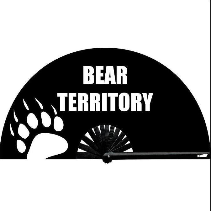 Bear Territory Hand Fan - Bearified Gear
