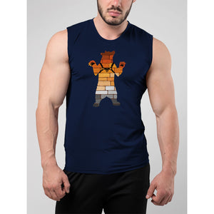 Gay Pride Bear Harness Muscle Tank Top - Bearified Gear