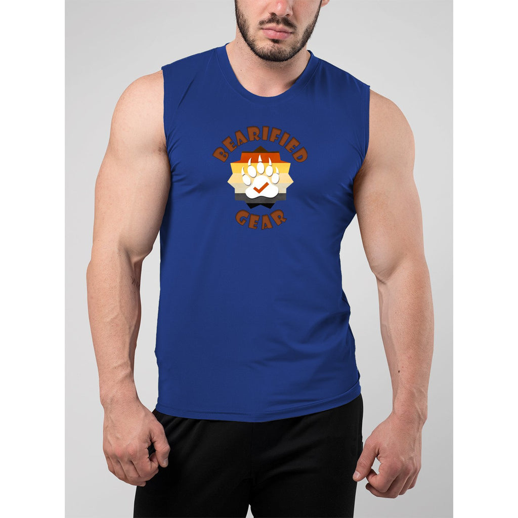 Bearified Gear Logo Muscle Tank Top - Bearified Gear