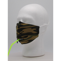 Camouflage Drinking Face Mask w PM2.5 Filter - Bearified Gear