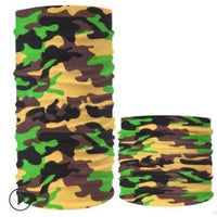 Camouflage Neck Gaiter & Face Mask - Bearified Gear