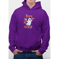 Here For The Booz Halloween Hoodie - Bearified Gear