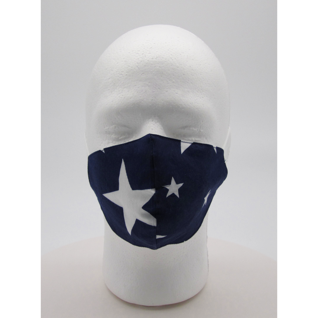 Stars Face Mask w/ PM2.5 Filters - Bearified Gear