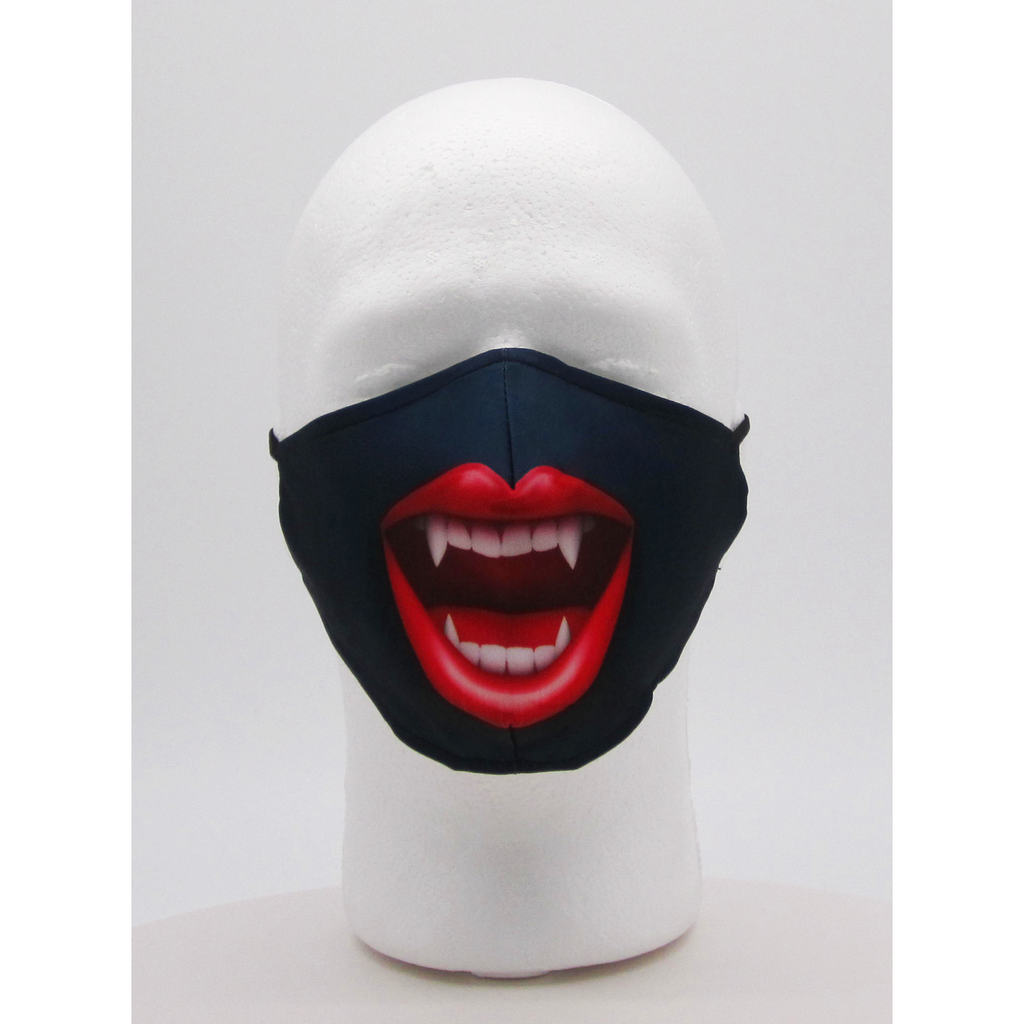Vampire Fangs Face Mask w/ PM2.5 Filters - Bearified Gear