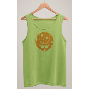 Woof Circle Tank Top - Bearified Gear