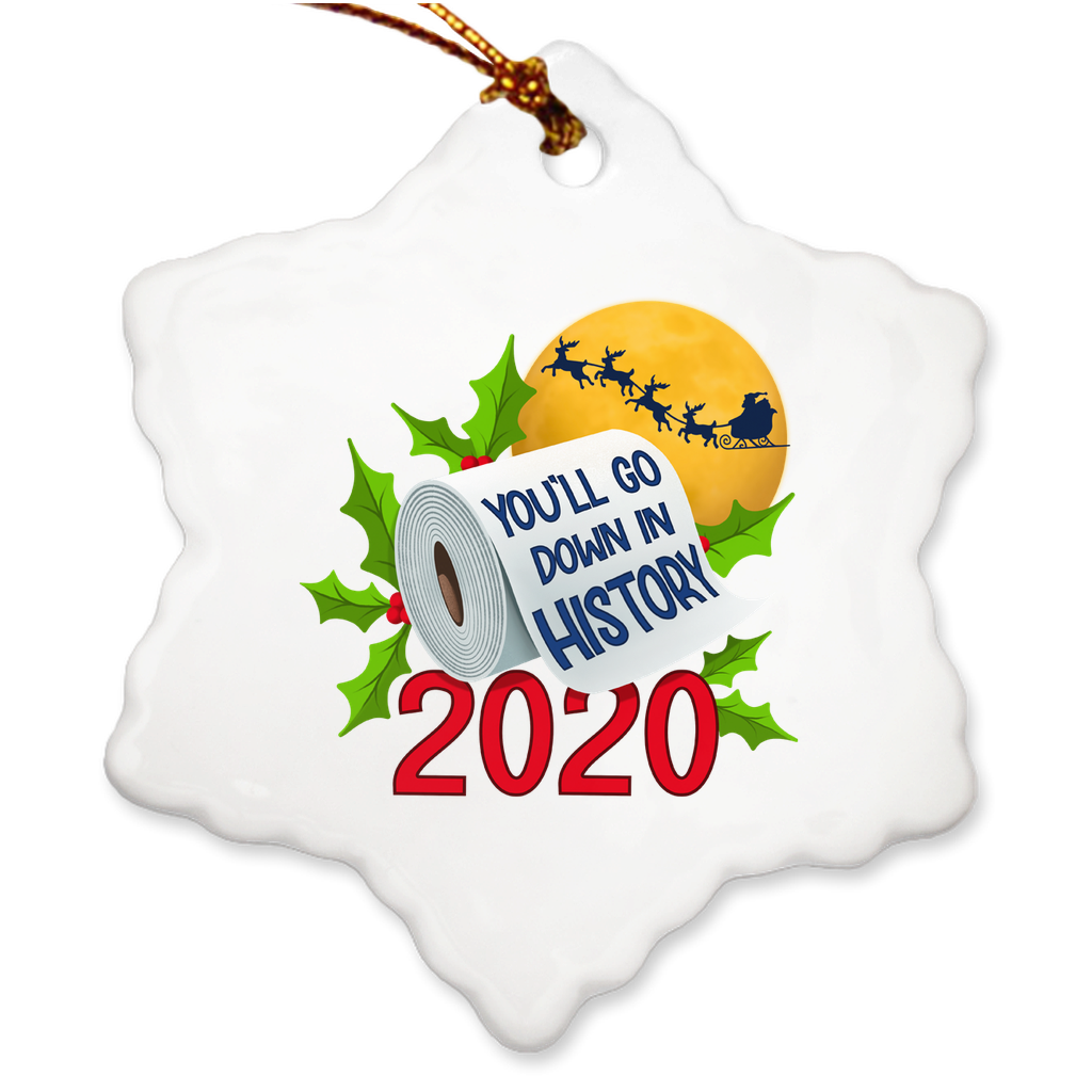 2020 Will Go Down In History Ornament - Bearified Gear