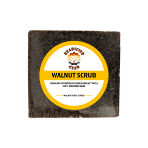 Walnut Scrub - FREE Shipping - Bearified Gear