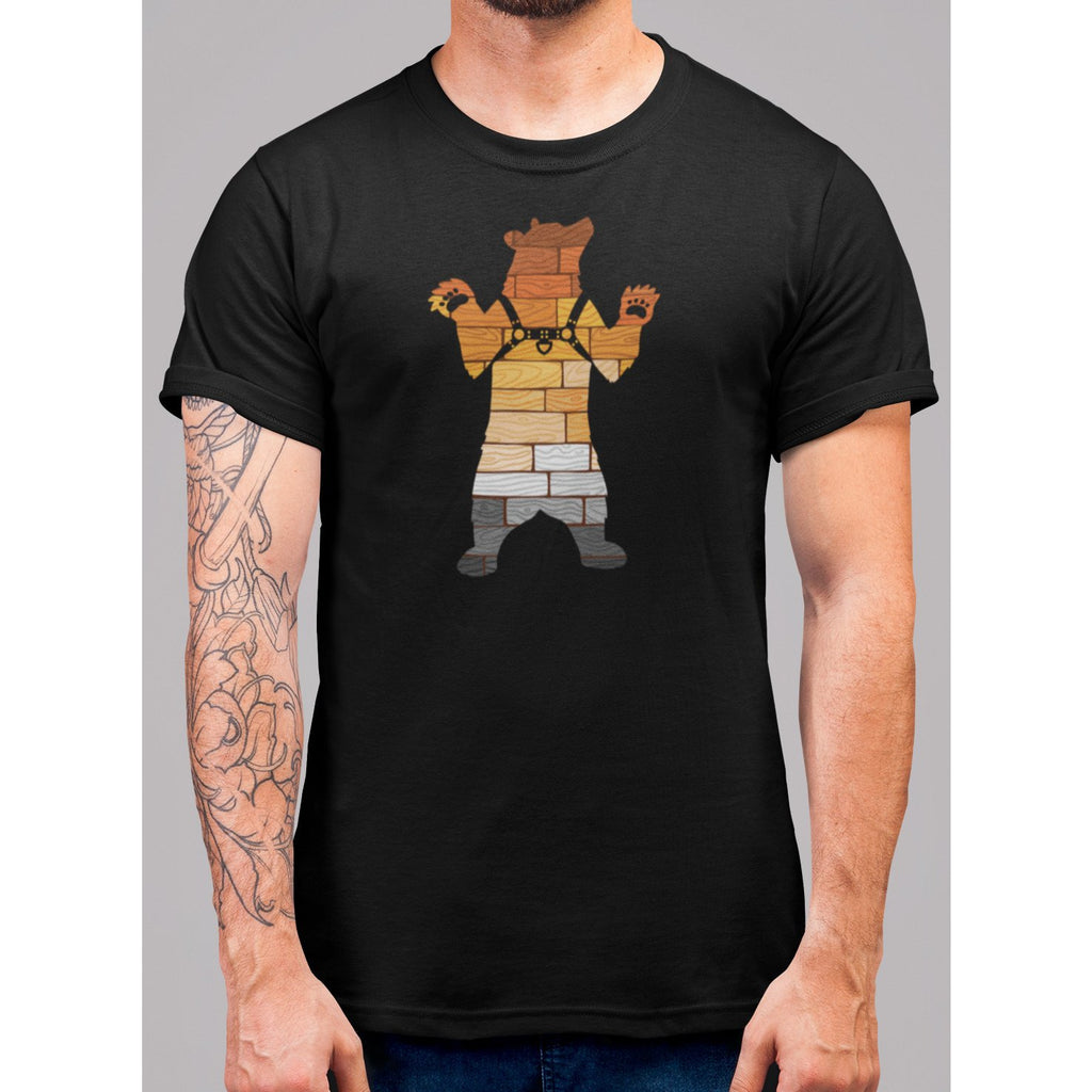 Bear Pride Harness T-Shirt - Bearified Gear