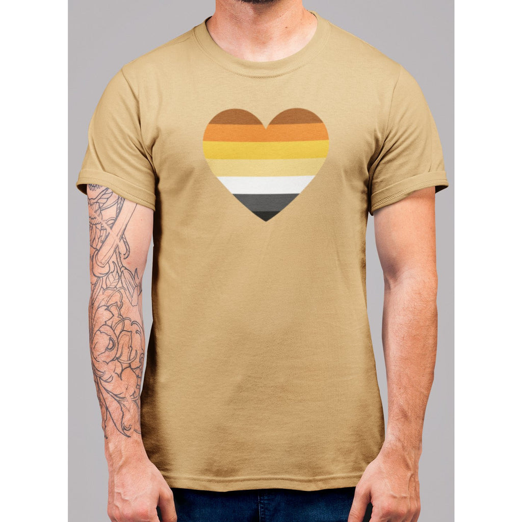Bear Pride Heart T-Shirt - Bearified Gear