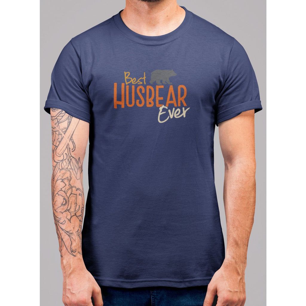 Best Husbear Ever T-Shirt - Bearified Gear