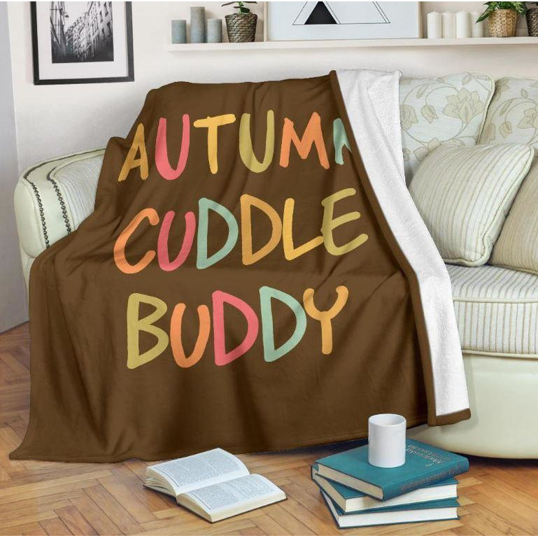 Autumn Cuddle Buddy Fleece Blanket - FREE Shipping - Bearified Gear