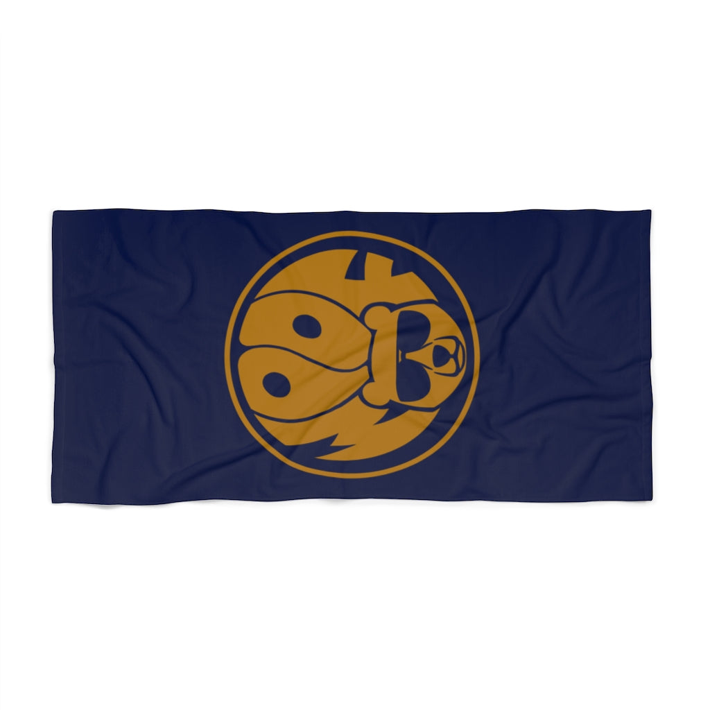 Woof Badge Beach Towel - Bearified Gear