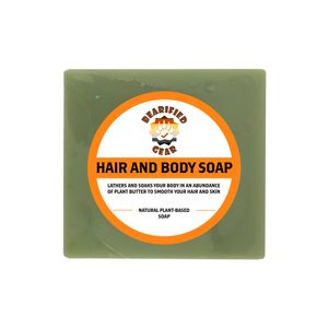 Hair & Body Soap - FREE Shipping - Bearified Gear