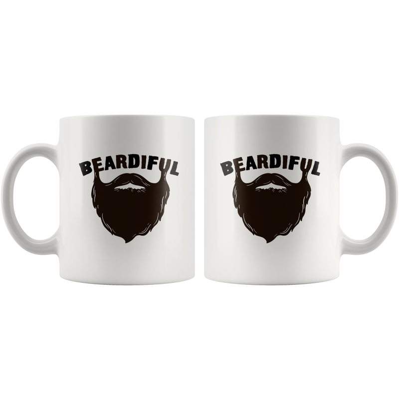 Beardiful Ceramic Mug - Bearified Gear