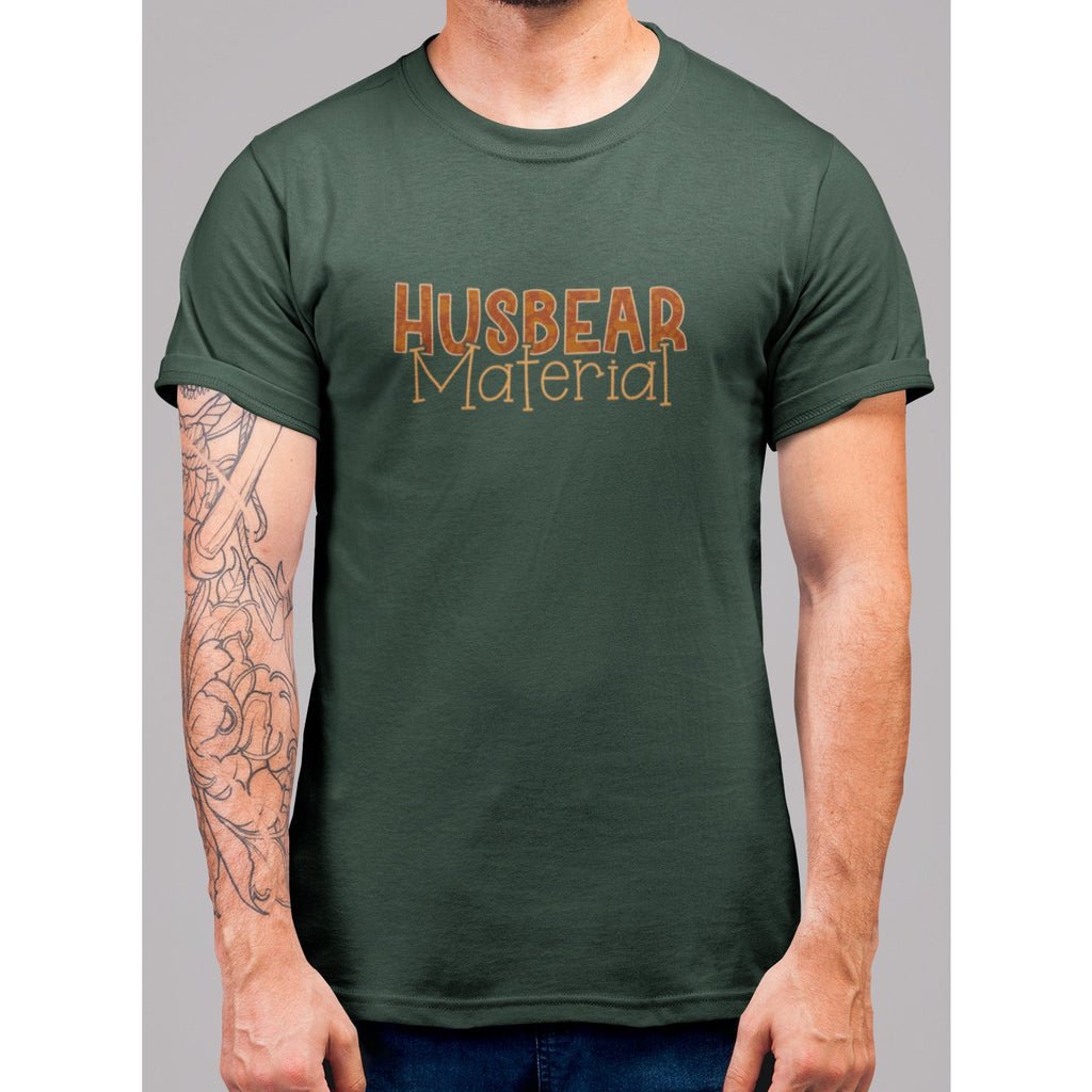 Husbear Material T-Shirt - Bearified Gear