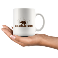 Bearlicious Mug - FREE Shipping - Bearified Gear