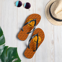 Woof Flip Flops - FREE Shipping - Bearified Gear