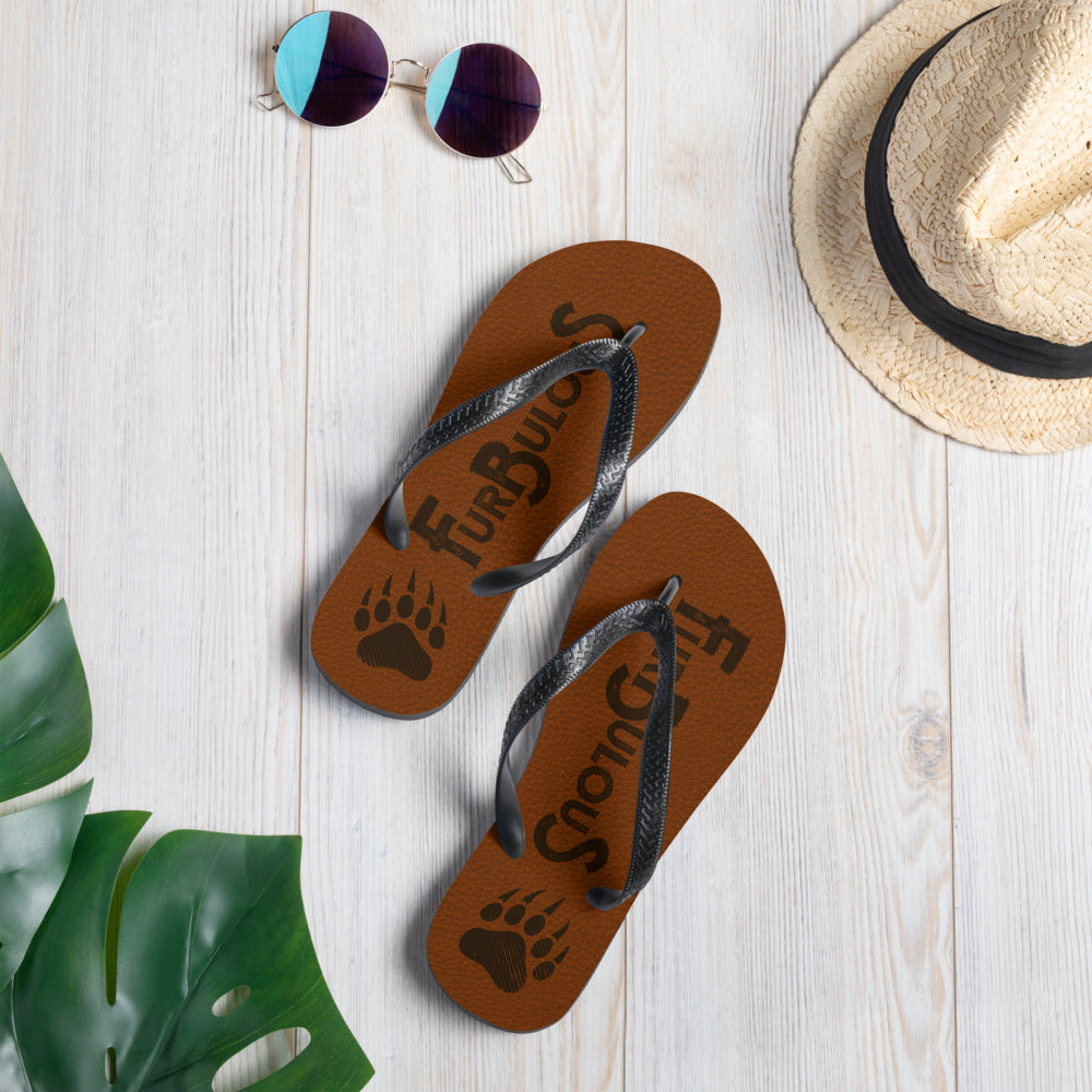 FurBulous Flip Flops - FREE Shipping - Bearified Gear
