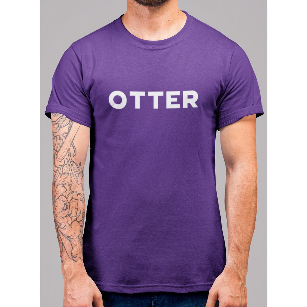 Otter Wording T-Shirt - Bearified Gear