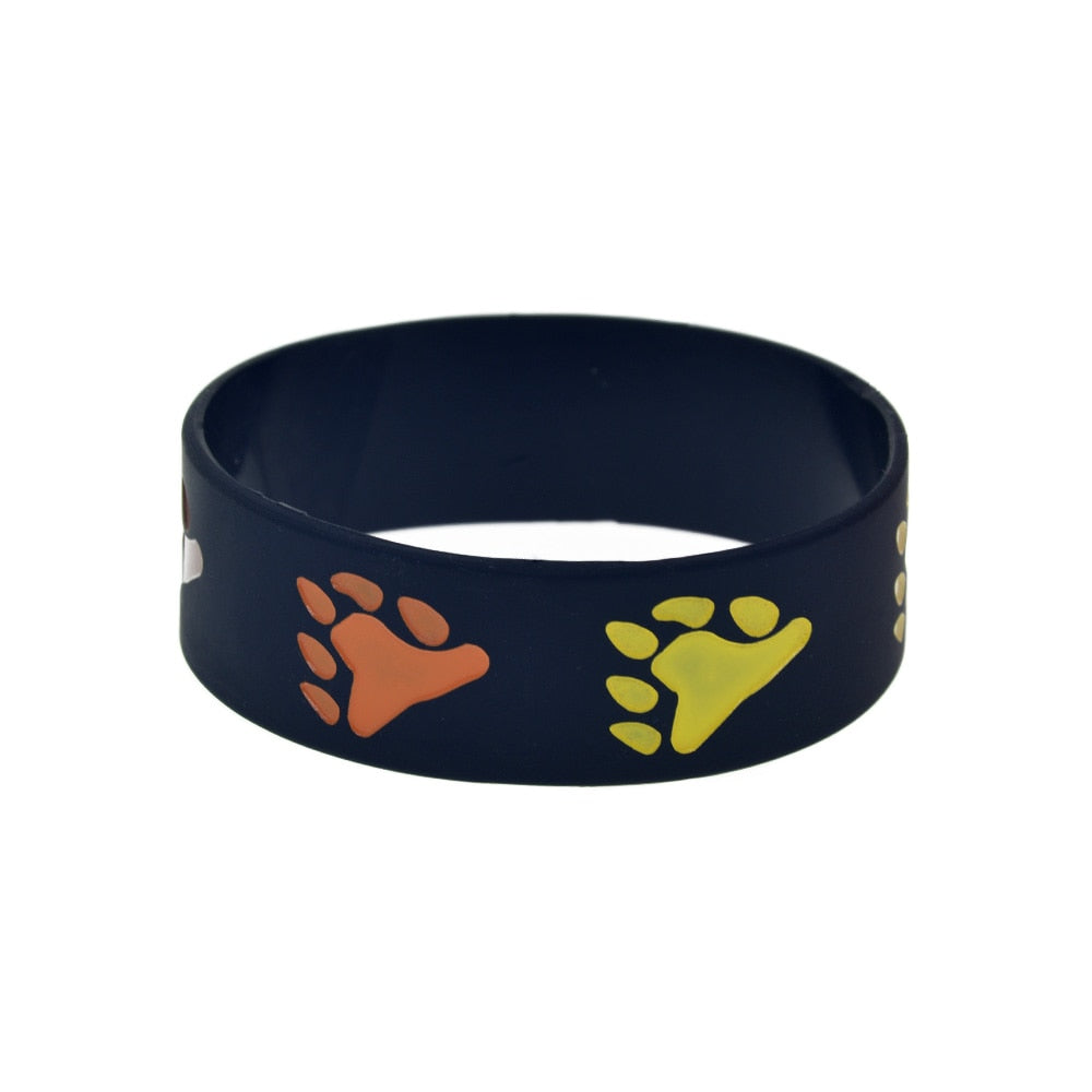 Bear Gay Pride Silicone Rubber Bracelet - Bearified Gear